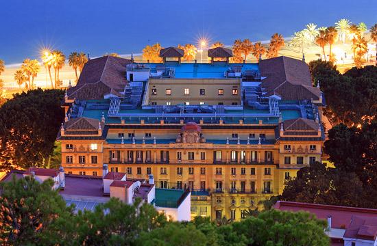 H tel malaga gran hotel miramar site internet for Hoteles lujo madrid