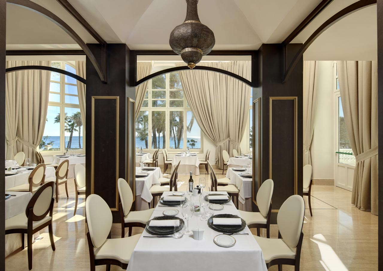 Gran Hotel Miramar Malaga Restaurant