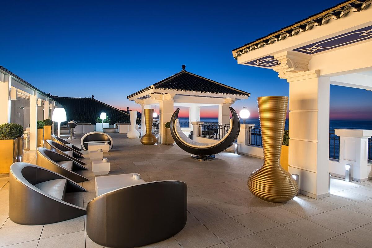Media Luna Chill Out Terrace Gran Hotel Miramar 5 Málaga